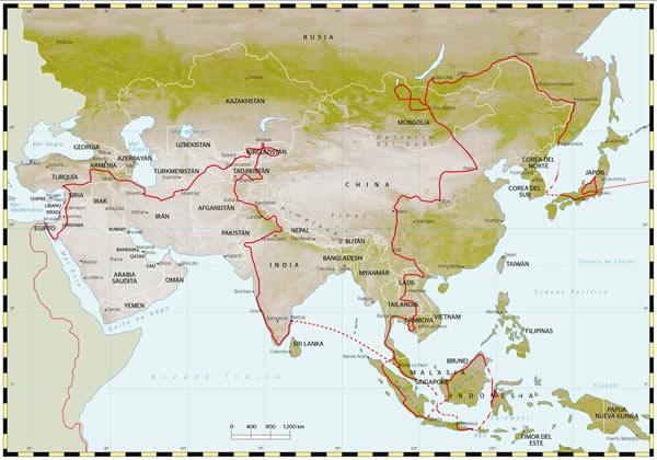 Un                                                       viaje de cuento                                                       Asia