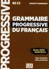 Grammaire progressive du français - Niveau perfectionnement - Livre - Nouvelle «c»