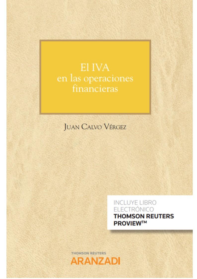 IVA EN LAS OPERACIONES FINANCIERAS, EL (DUO)
