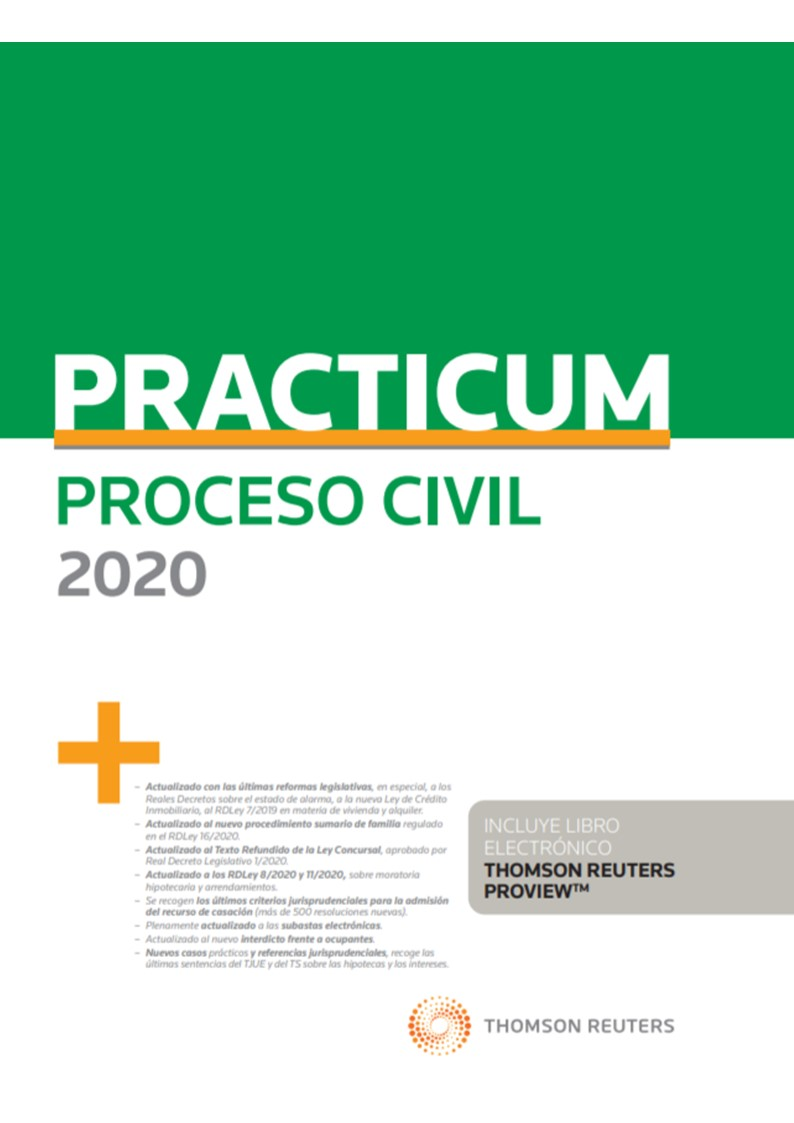 PRACTICUM PROCESO CIVIL 2020 (DUO)