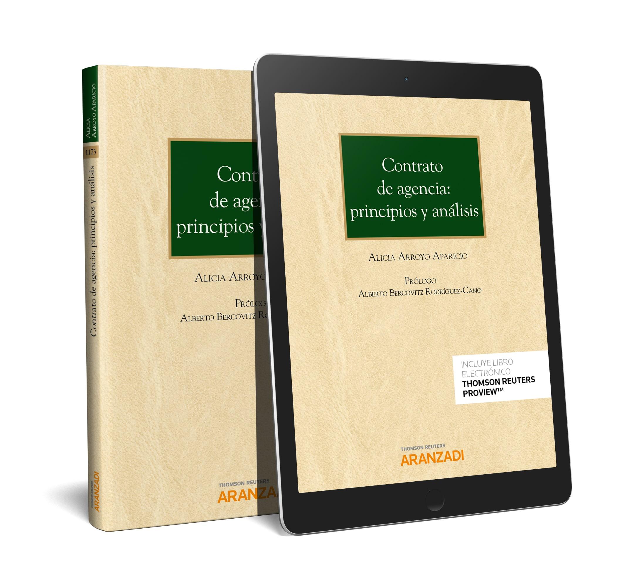 CONTRATO DE AGENCIA PRINCIPIOS Y ANALISIS.(DÚO)
