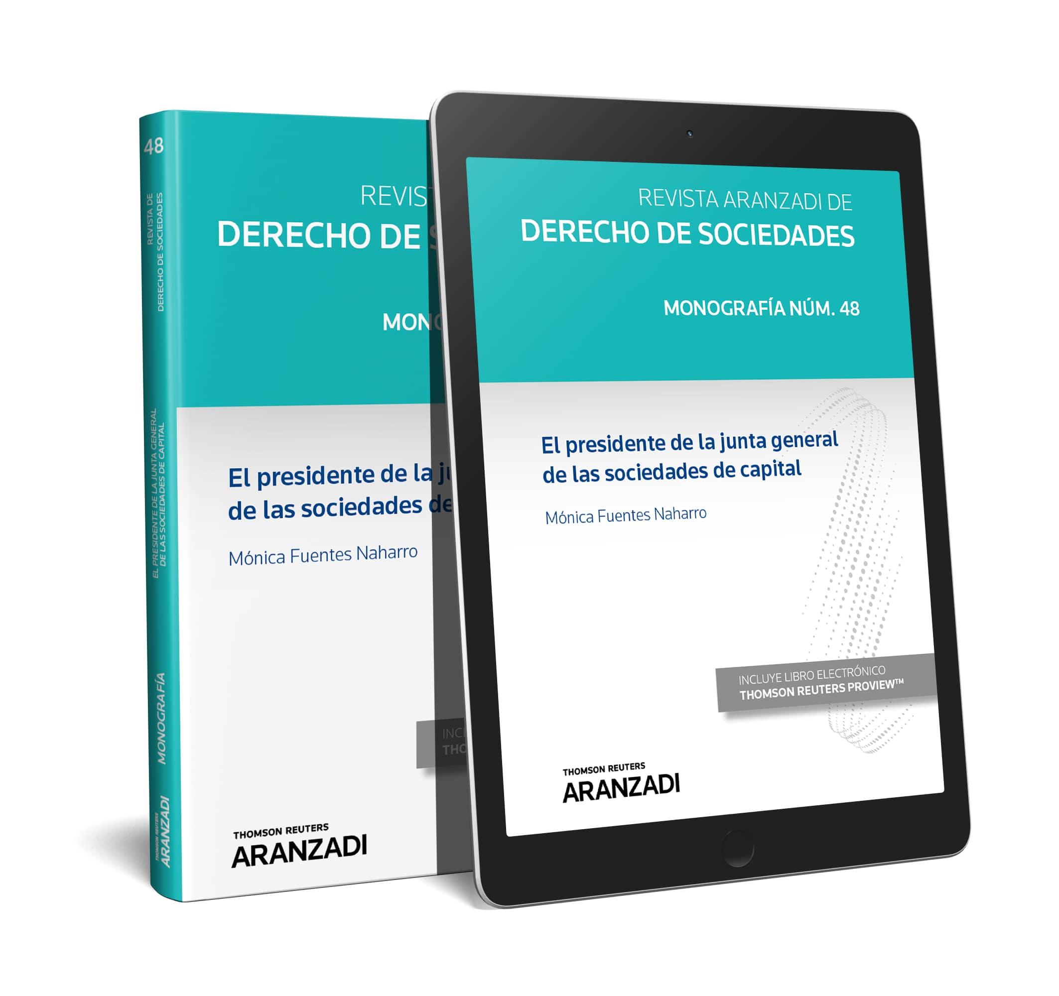 PRESIDENTE JUNTA GENEARAL SOCIEDADES CAPITAL (DÚO)