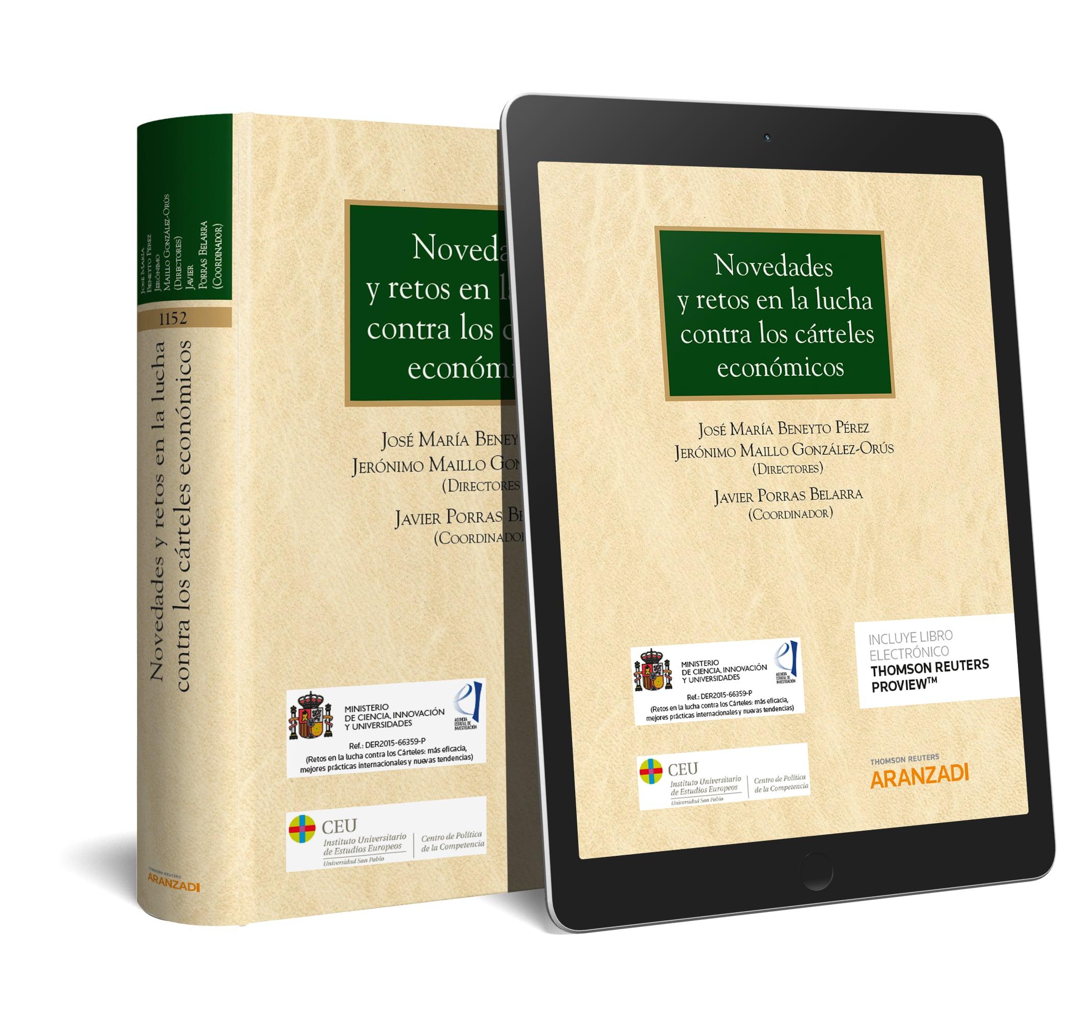 Novedades y retos en la lucha contra los cárteles económicos (DUO