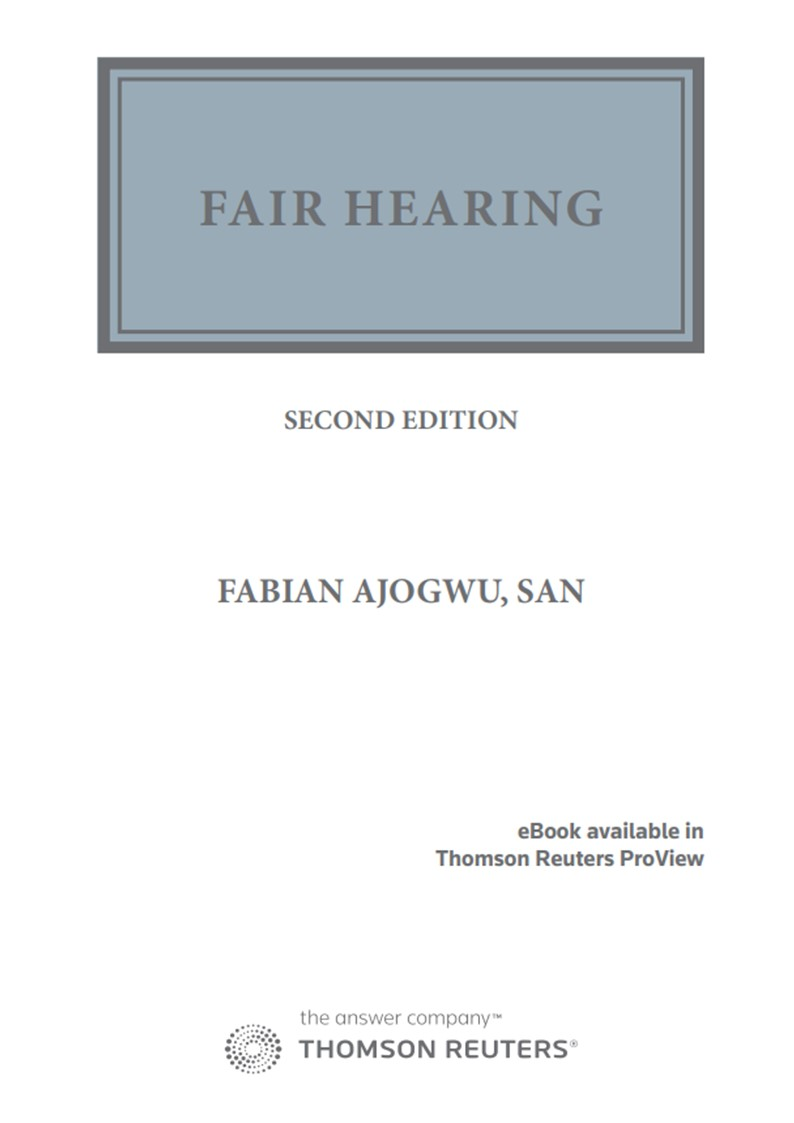 Fair Hearing (Papel + e-book) (9788413454467)