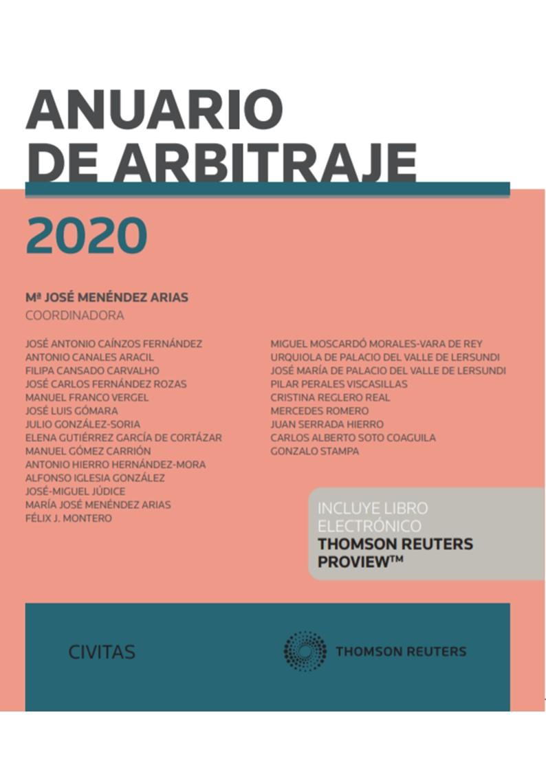 ANUARIO DE ARBITRAJE 2020