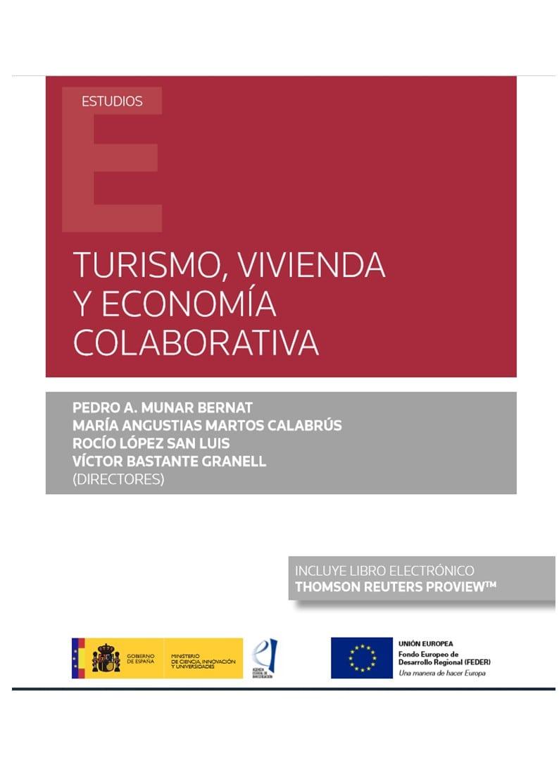 Turismo, vivienda y economía colaborativa (Papel + e-book)