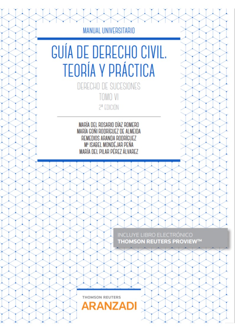 Guia de derecho civil. Teora y práctica .