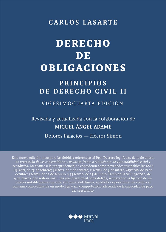 Principios de Derecho civil   «Tomo II: Derecho de obligaciones»