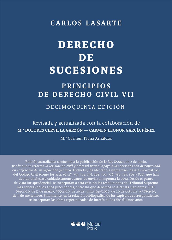 Principios de Derecho civil   «Tomo VII: Derecho de sucesiones»