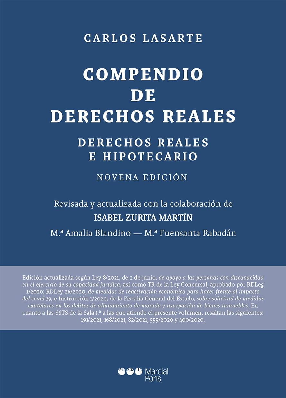 Compendio de derechos reales   «Derechos reales e hipotecarios. 9ª ed.»