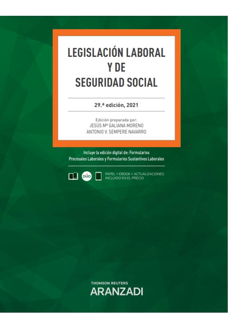 LEGISLACION LABORAL Y DE SEGURIDAD SOCIAL