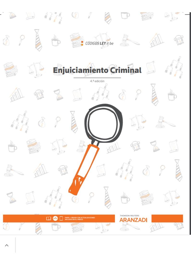 ENJUICIAMIENTO CRIMINAL (LEYITBE)