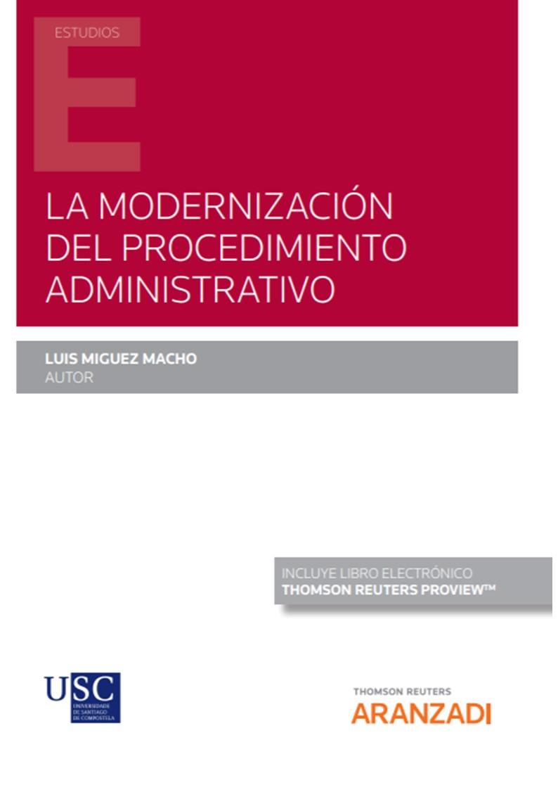 La modernización del procedimiento administrativo (Papel + e-book)