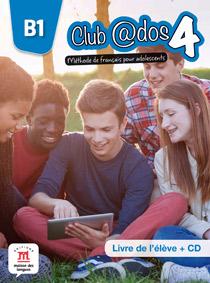 Club@dos 4 livre de l'élève + CD   «Méthode de français pour adolescents»