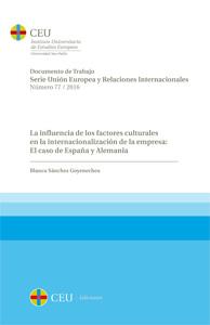 LA INFLUENCIA DE LOS FACTORES CULTURALES EN LA INT