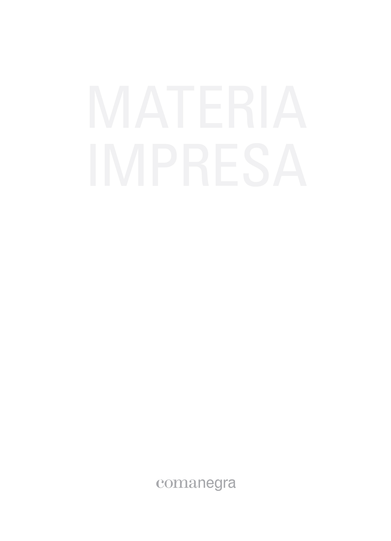 Materia impresa