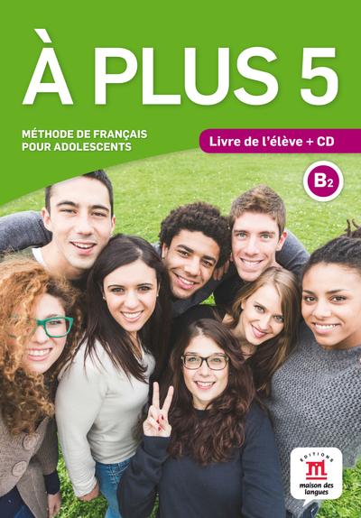 À plus 5 Livre de l'élève + CD