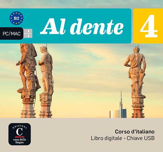 AL DENTE 4 NIVEL B2 LLAVE USB CON LIBRO DIGITAL