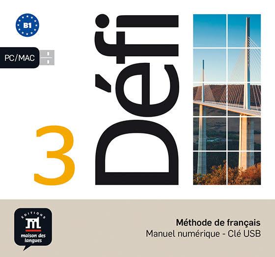 DEFI 3 NIVEL B1 LLAVE USB CON LIBRO DIGITAL 3 TRIM 2018