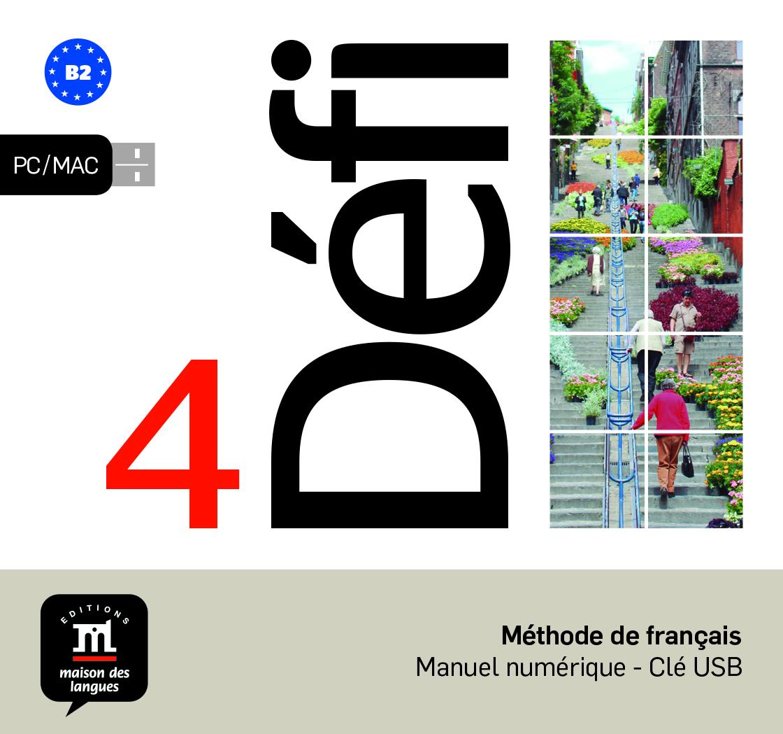 DEFI 4 NIVEL B2 LLAVE USB CON LIBRO DIGITAL 2019