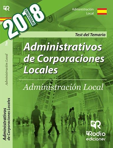 Administrativos de Corporaciones Locales. Administ