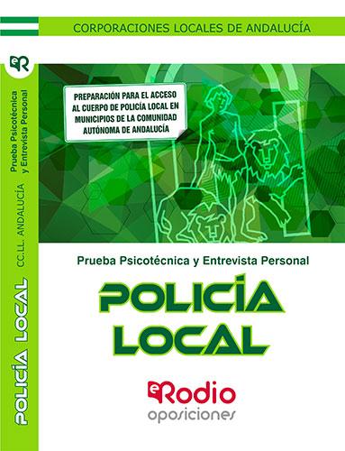 Policía Local. Corporaciones Locales de Andalucía.