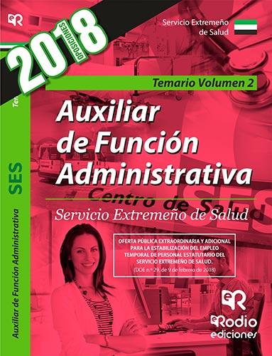 Auxiliar de Función Administrativa. Servicio Extre