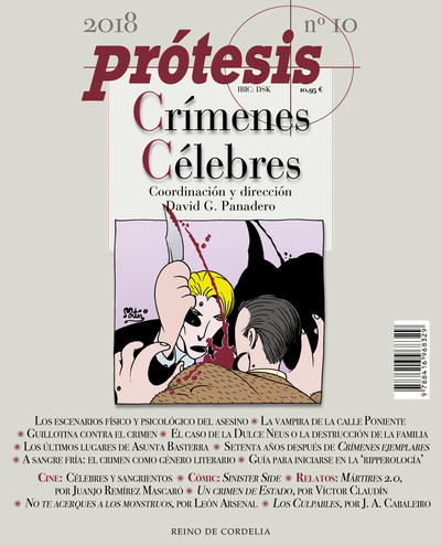 Crímenes célebres   «Prótesis- Publicación consagrada al crimen»