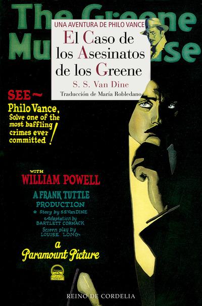 El caso de los asesinatos de los Greene   «Una aventura de Philo Vance»