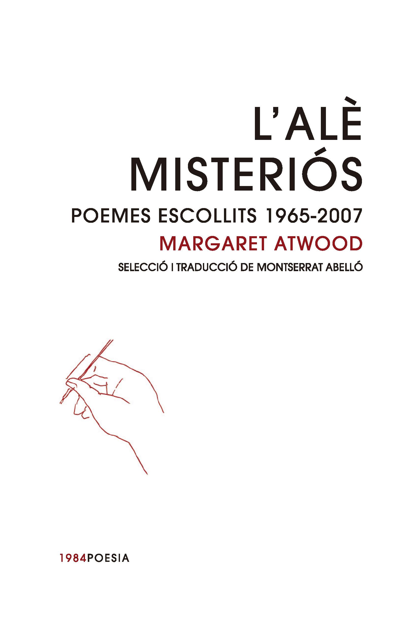 L'alè misteriós   «Poemes escollits 1965-2007»
