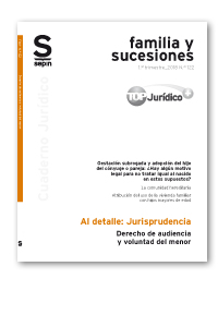 Derecho de audiencia y voluntad del menor