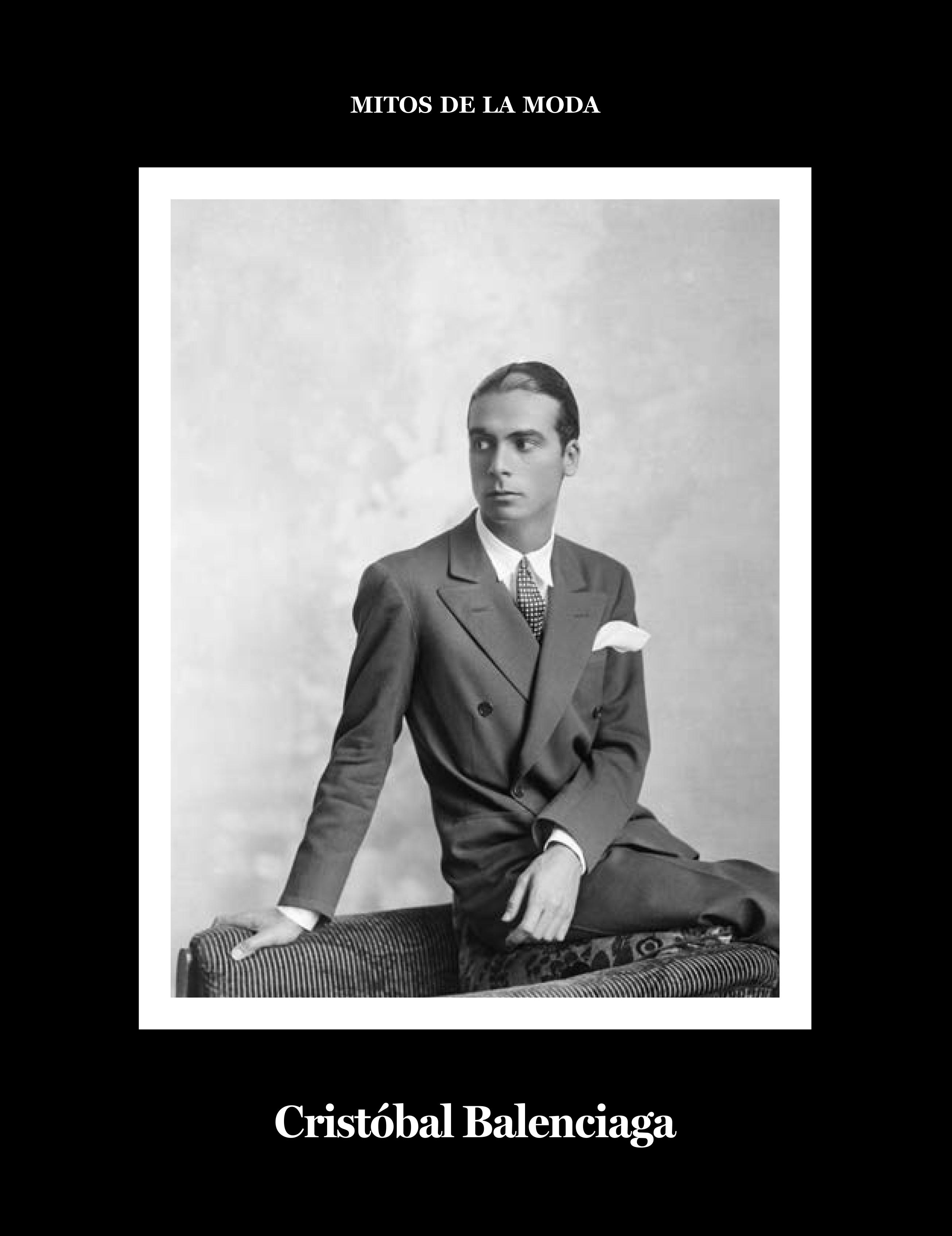 Cristóbal Balenciaga.   «Mitos de la moda.»