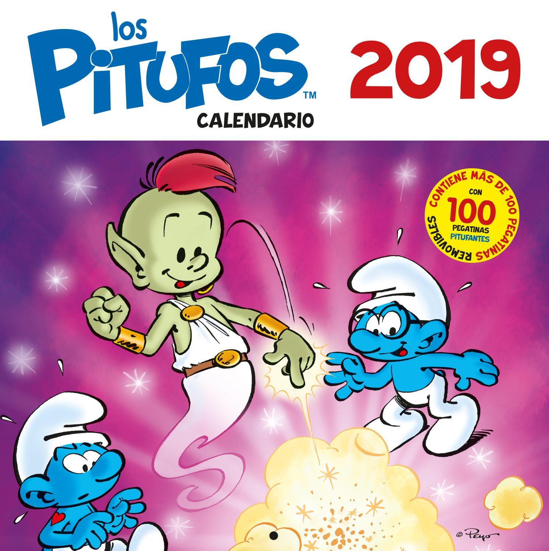 Calendario los Pitufos 2019