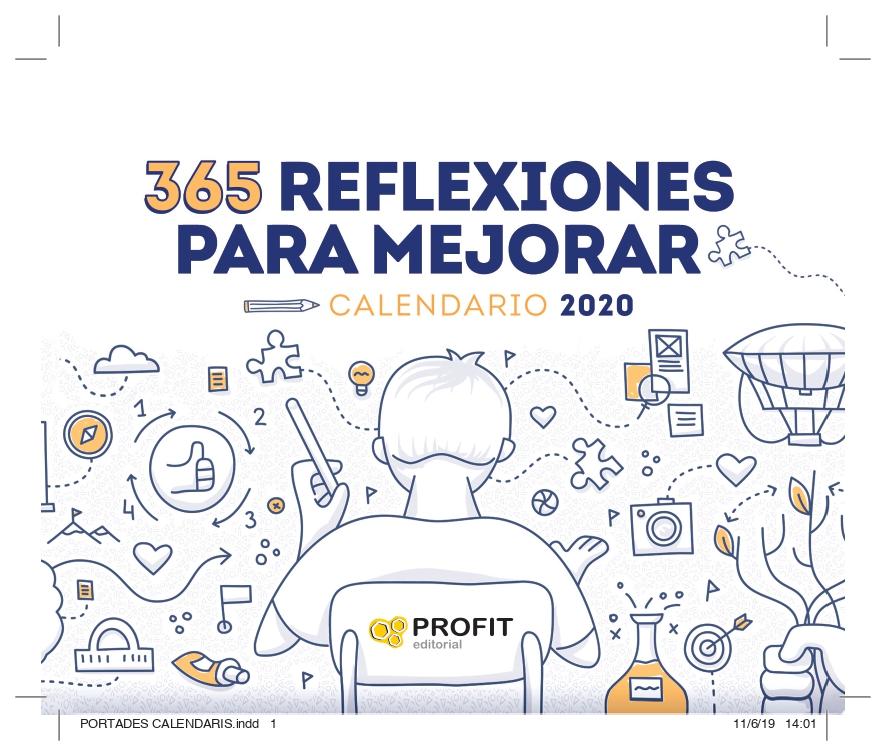 CALENDARIO 2020 365 REFLEXIONES PARA MEJORAR