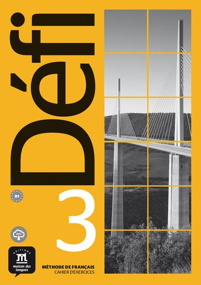 DEFI 3 NIVEL B1 CUADERNO DE ACTIVIDADES Y MP3 DESC
