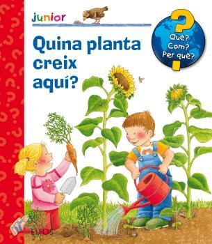 Què? Junior. Quina planta creix aquí?