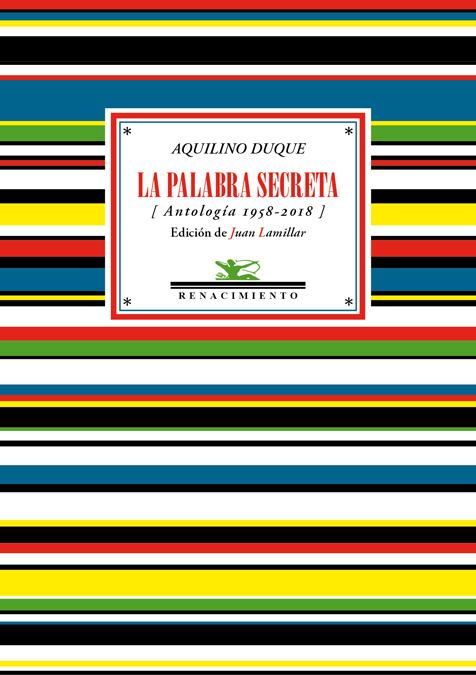 La palabra secreta   «(Antología 1958-2018)»