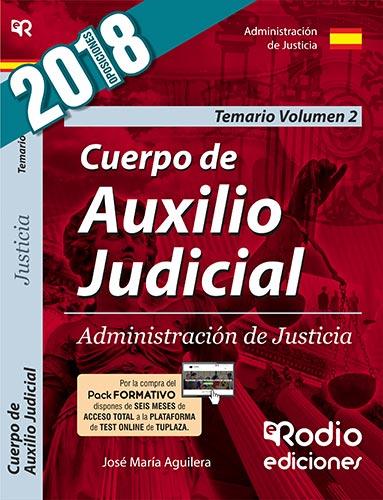 Cuerpo de Auxilio Judicial. Administración de Just