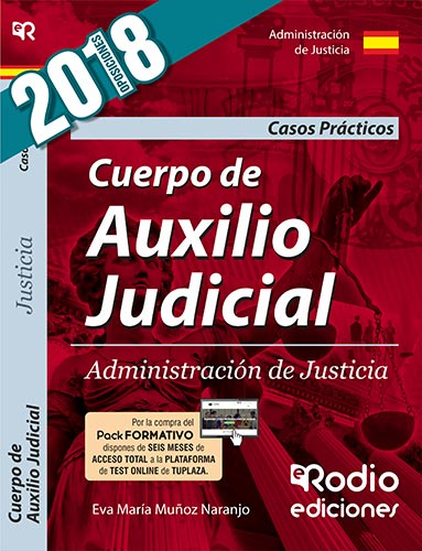 Cuerpo  de Auxilio Judicial. Administración de Jus