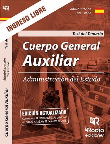 Cuerpo General Auxiliar.  Administración del Estad