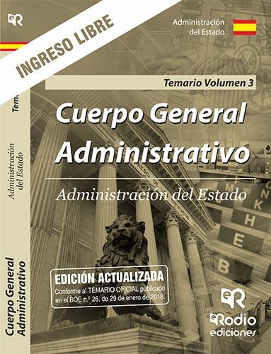 Cuerpo General Administrativo. Administración del