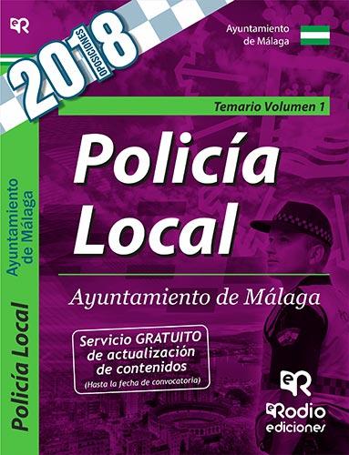 Policía Local. Ayuntamiento de Málaga. Temario. Vo