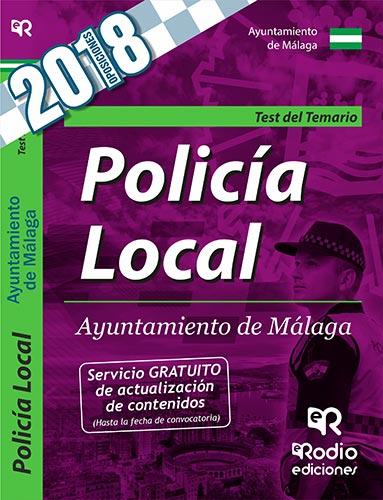 Policía Local. Ayuntamiento de Málaga. Test del Te