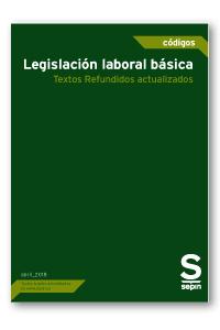 Legislación laboral básica   «Textos Refundidos actualizados»