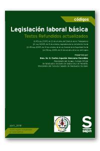 Legislación laboral básica   «Textos Refundidos actualizados (EDICIÓN COLECTIVOS)»
