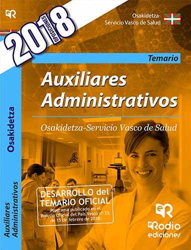 Auxiliares Administrativos. Osakidetza-Servicio Va