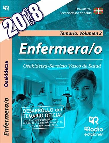 Enfermera/o. Osakidetza-Servicio Vasco de Salud. T
