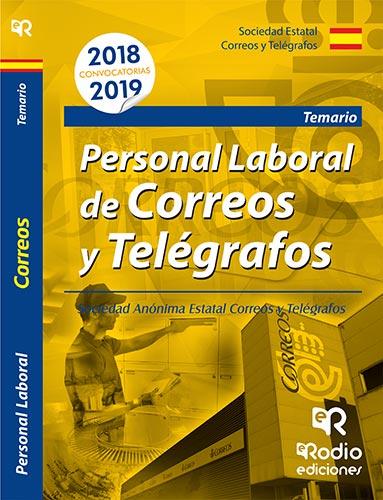 PERSONAL LABORAL DE CORREOS Y TELEGRAFOS TEMARIO 2018-2019