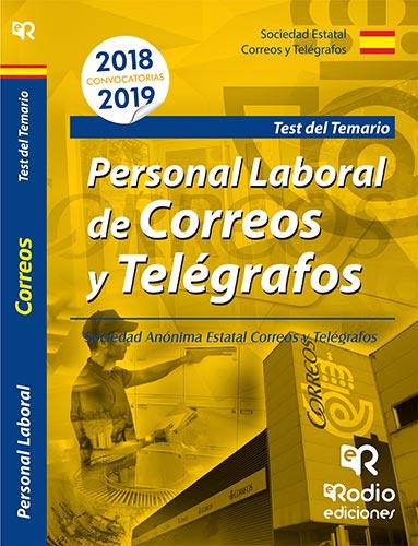 PERSONAL LABORAL DE CORREOS YTELEGRAFOS TEST 2018-2019