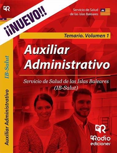 Auxiliar Administrativo. Servicio de Salud de las
